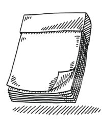 Отрывной блокнот